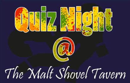 CASH PRIZE GENERAL KNOWLEDGE QUIZ NIGHTS – 1st & 3rd Thursday of the month