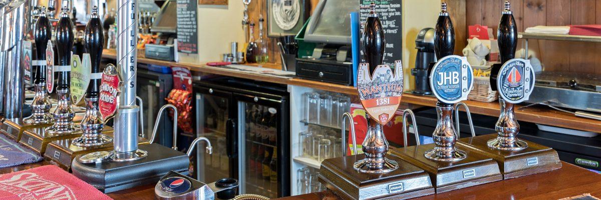 Drinks at the Malt Shovel Tavern