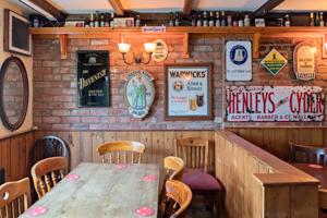 Malt Shovel Tavern - photo of back room