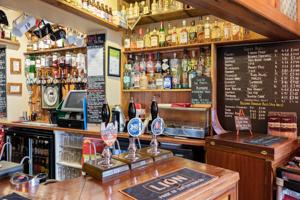 Drinks - photo of the bar at The Malt Shovel Tavern